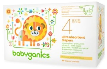 Target: BabyGanics Diapers solo a $1.99 pk