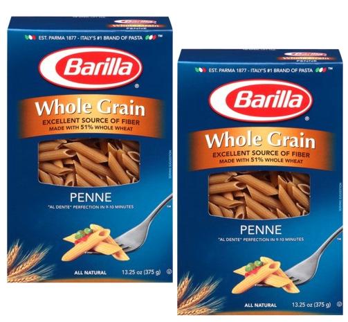 Lee más sobre el artículo Pasta Barilla Whole Grain GRATIS usando SavingStar