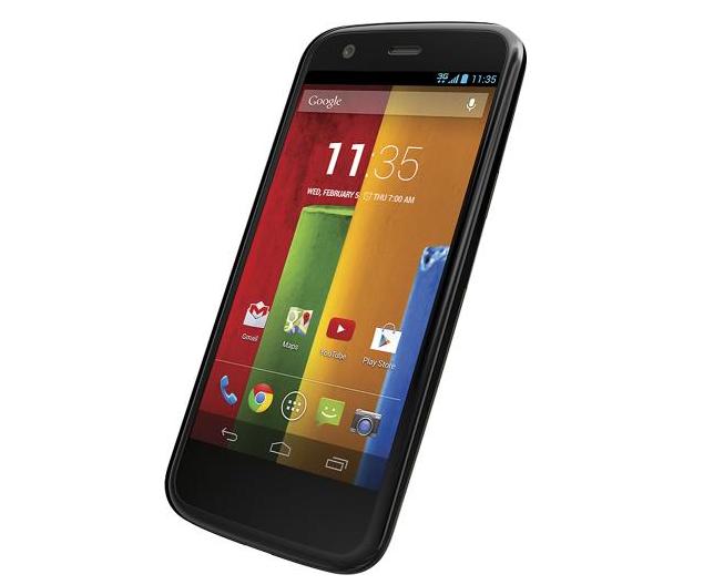Verizon Wireless Prepaid – Motorola Moto G No-Contract Cell Phone $29.99 at Best Buy