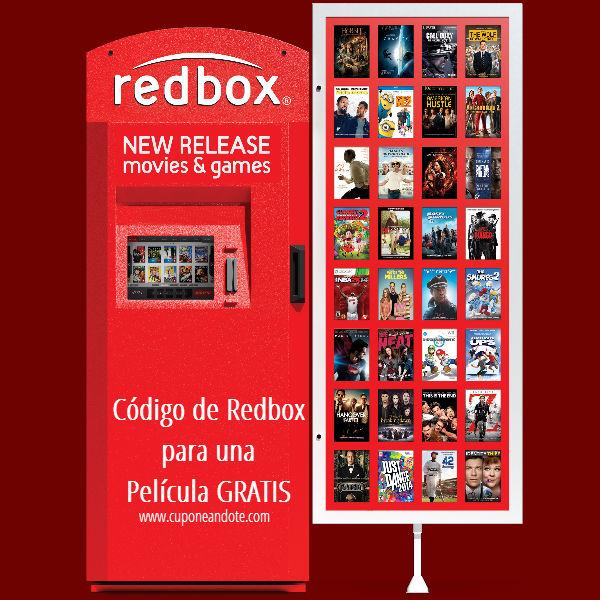 REDBOX: Nuevo Código Para Alquilar Una Película Gratis