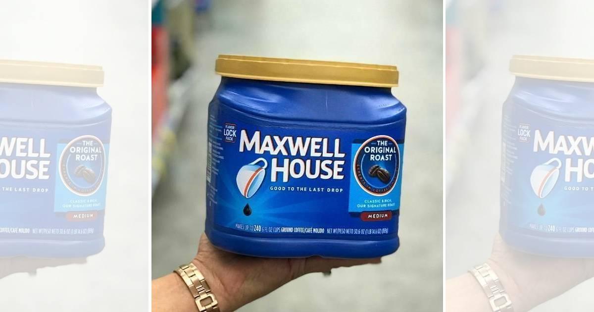 Maxwell House Coffee SOLO $4.99 en CVS