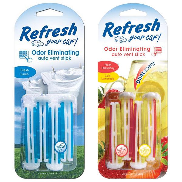 Lee más sobre el artículo Refresh Auto Vent Stick Air Freshener SOLO $1.65 en Family Dollar