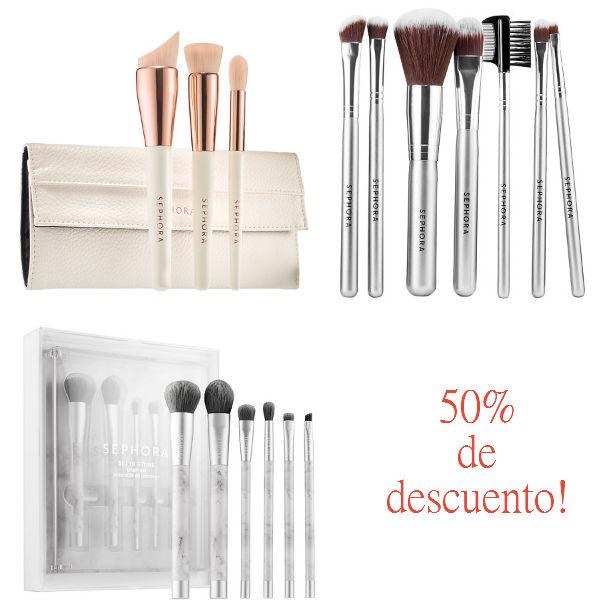 Lee más sobre el artículo Brochas de Maquillaje al 50% en Sephora