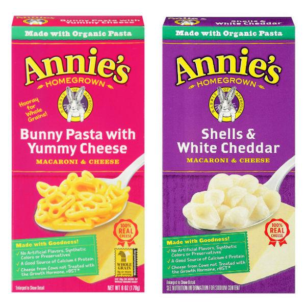 Annie's Mac & Cheese a solo $0.50 en Kroger