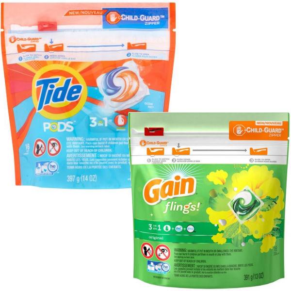 Lee más sobre el artículo Tide Pods o Gain Flings SOLO $0.95 en Family Dollar