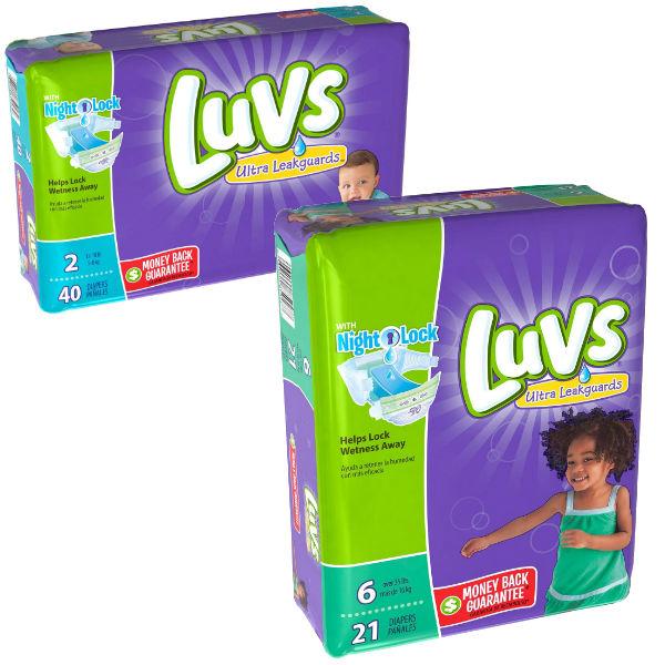 Pañales Luvs a solo $4.50 en Dollar General