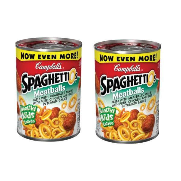 SpaghettiOs a solo $0.75 en Dollar General