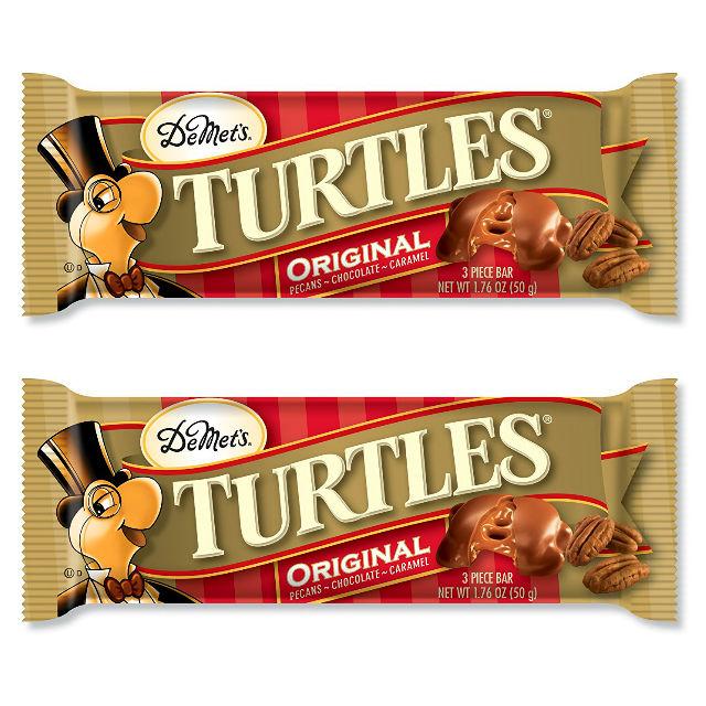 Barra DeMet's Turtles King Size a solo $0.85 en Family Dollar