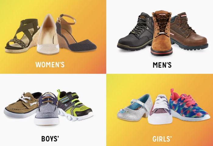 Compra 1 par de Zapatos y el segundo por $1 en Kmart