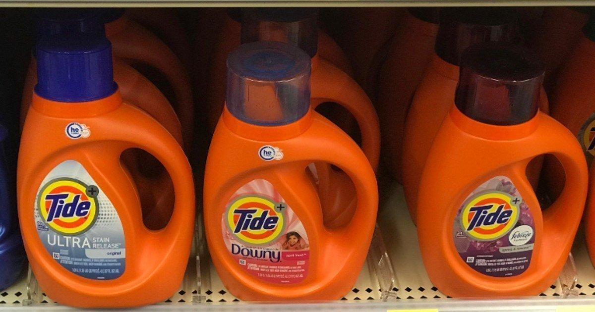 Tide liquido o Pods a solo $2.99 en Walgreens