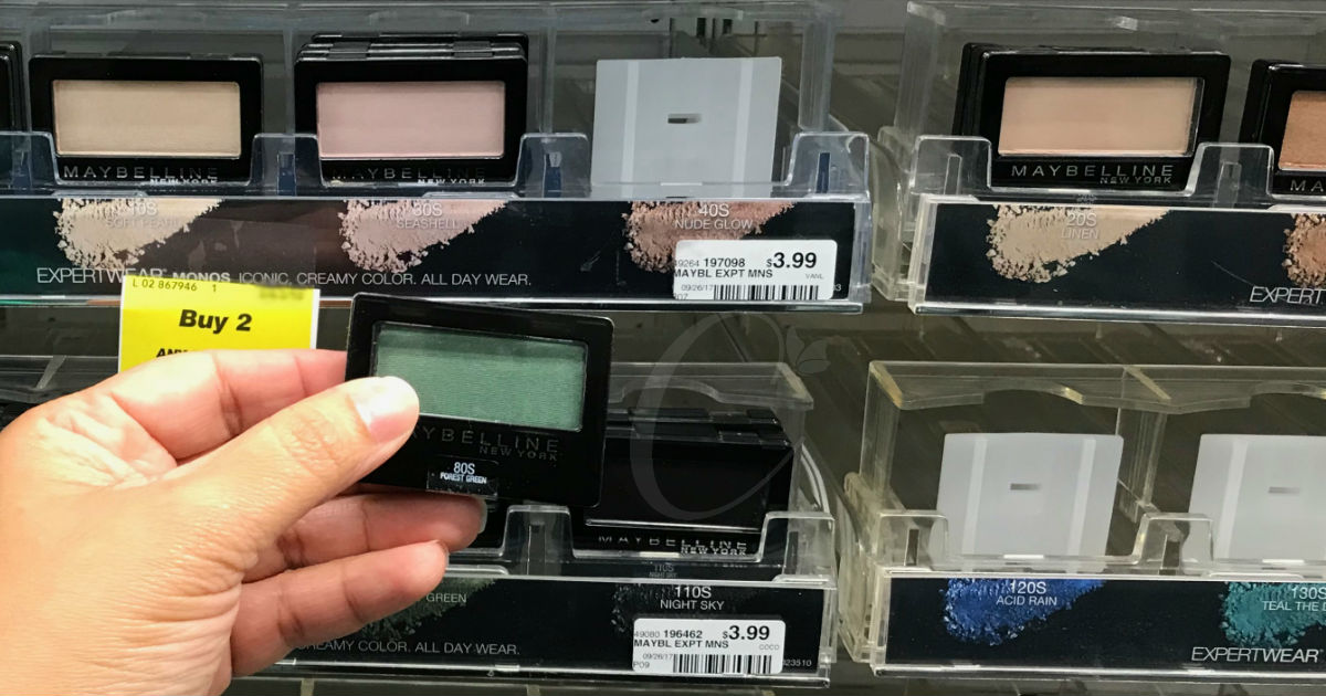 Maybelline Expert Wear Eyeshadow a solo $0.49 en CVS