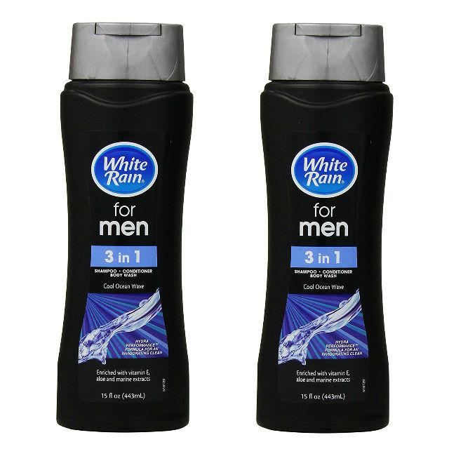 White Rain Men 3-in-1 Shampoo a solo $0.75 en Dollar General