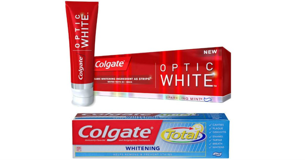 Colgate Optic White o Total GRATIS en CVS
