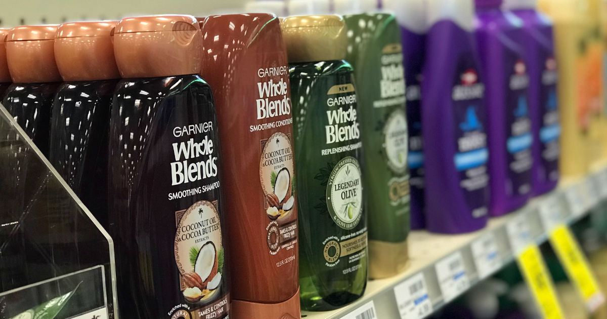 Empezando 2/28/21 — Garnier Whole Blends SOLO $1.50 en CVS