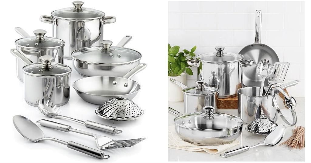 Set de Cocina Tools of the Trade en Stainless Steel de 13-Pc a $28.49 en Macy's (Reg $120)