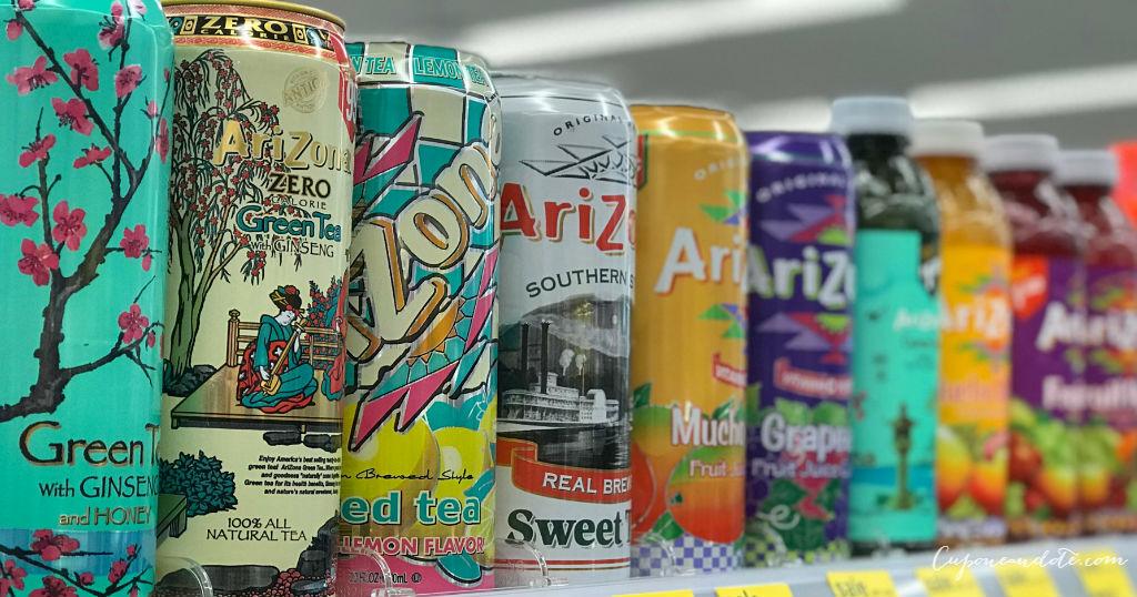 Empezando 11/29/20 — Bebidas Arizona a solo $0.50 en Walgreens