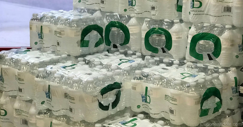 Caja de Agua Just The Basics a solo $2.99 en CVS