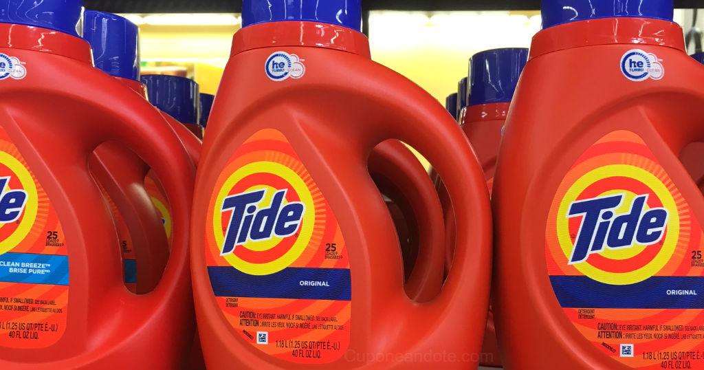 Detergente liquido Tide de 25 tandas