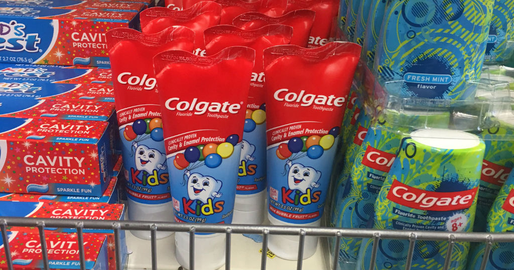 Pasta dental Colgate Kids SOLO $0.50 en Dollar Tree