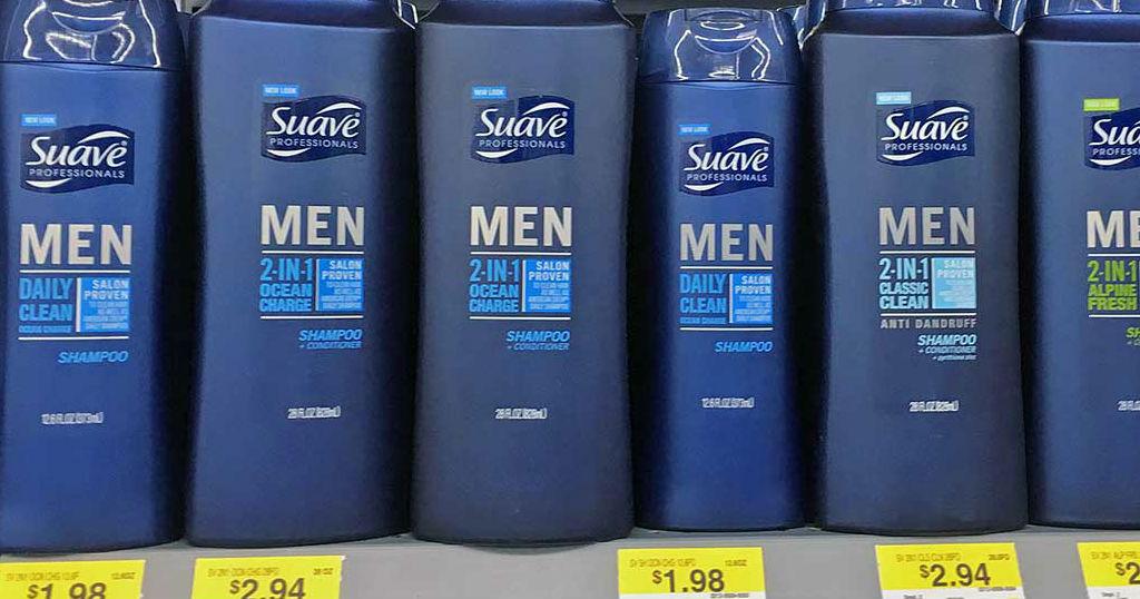 Suave Professionals Men 2-in-1 GRATIS en Walmart