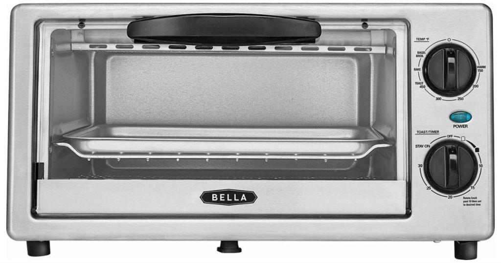Horno Tostador Bella Stainless Steel a solo $9.99 (Reg. $44.99) en Macy's