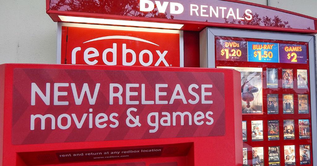Alquila un DVD o Blu-Ray GRATIS en Redbox