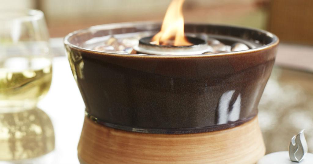 TIKI Ceramic Tabletop Torch solo $4.98 (reg $25) en Lowe's