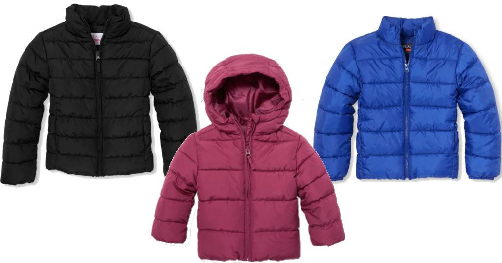 Lee más sobre el artículo Puffer Jackets para Niños solo $19.99 (reg $50) en The Children's Place