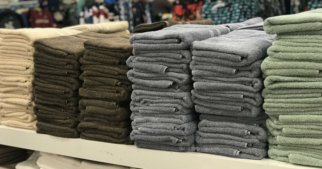 Toallas Home Expressions solo $1.88 en JCPenney