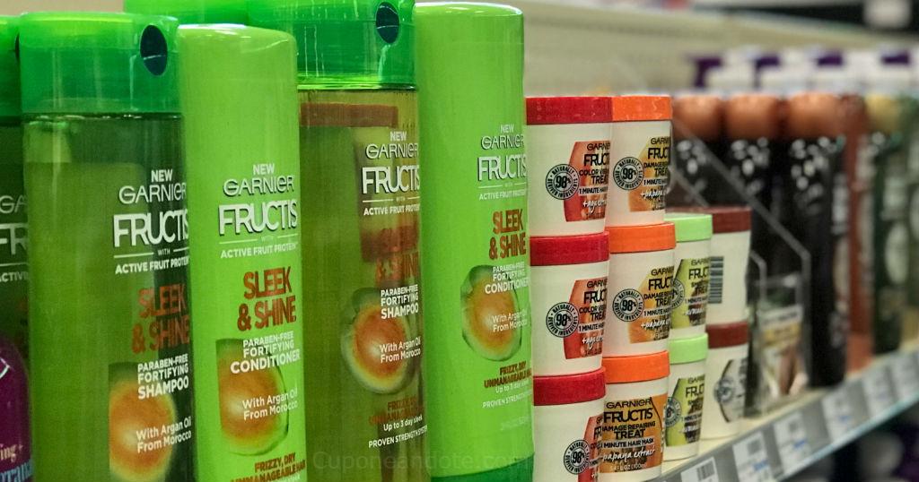 Garnier Fructis a solo $1.50 en CVS