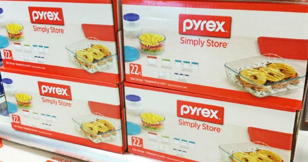 Lee más sobre el artículo Set de Almacenamiento Pyrex de 22 Piezas a solo $29.99 en Macy's (Reg. $72)
