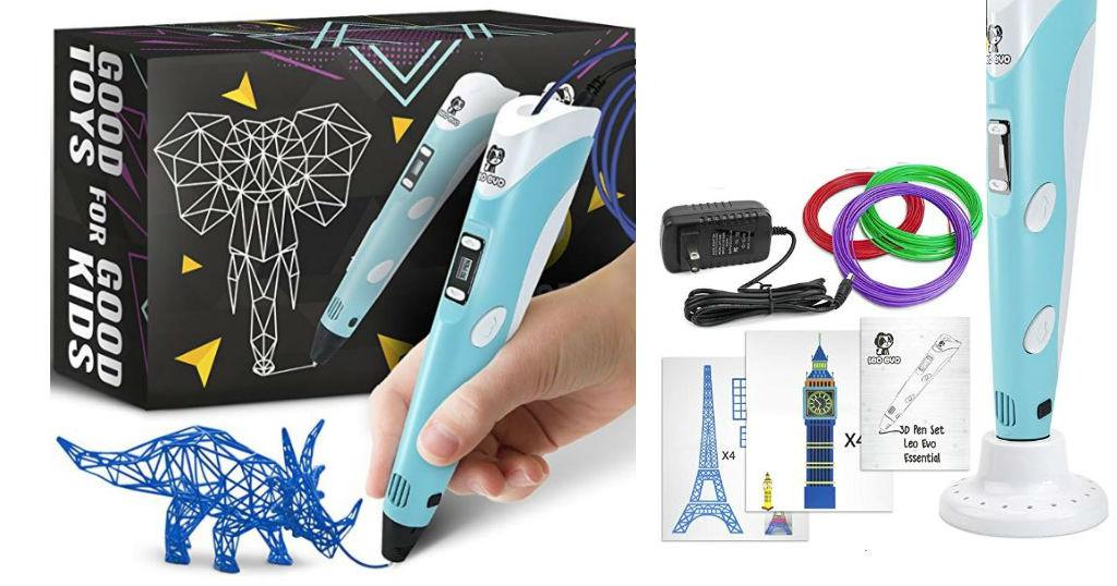 Lee más sobre el artículo 3D Pen Kit for Kids a $27 en Amazon