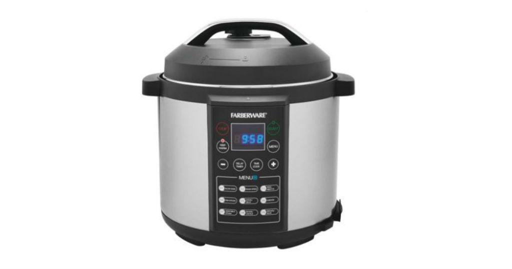 Lee más sobre el artículo Farberware Digital Pressure Cooker, 6 Quart a solo $49.84 (Reg.$79.99) en Walmart