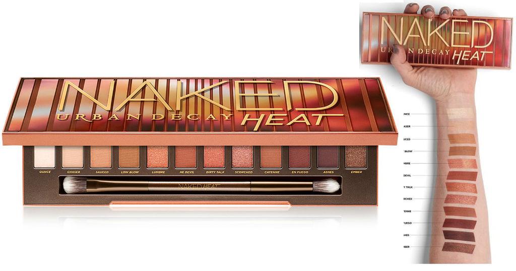 Paleta Urban Decay Naked Heat SOLO $27 (Reg $54) en Macy's + $10 Money Macy's