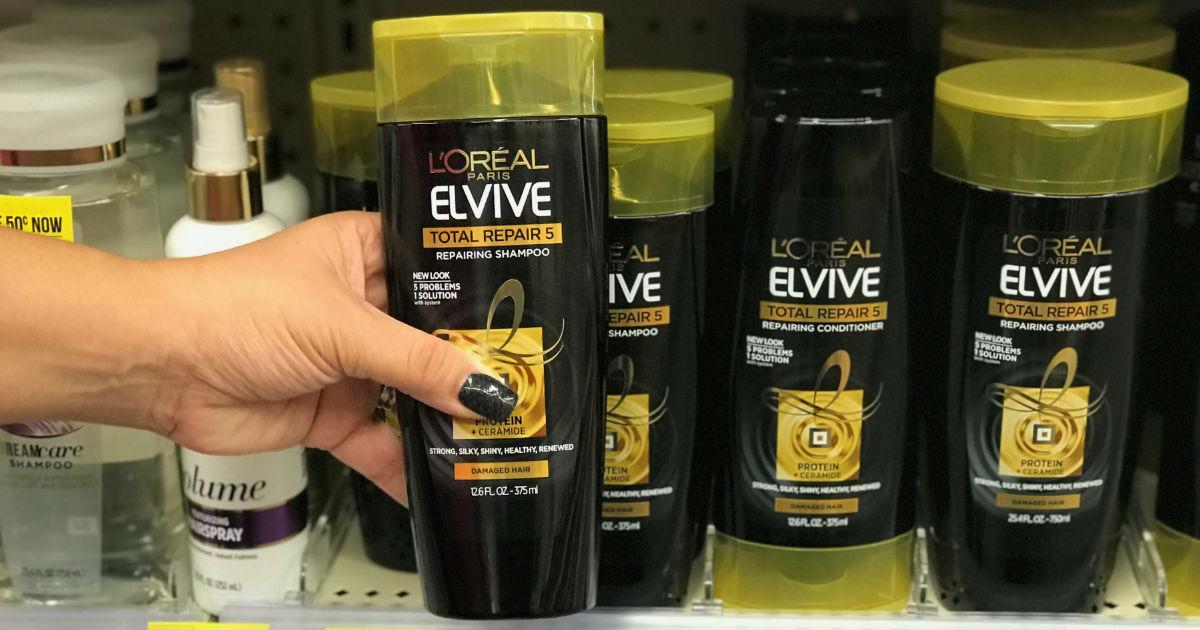 L'Oreal Elvive Hair Care a solo $1.00 en Walgreens