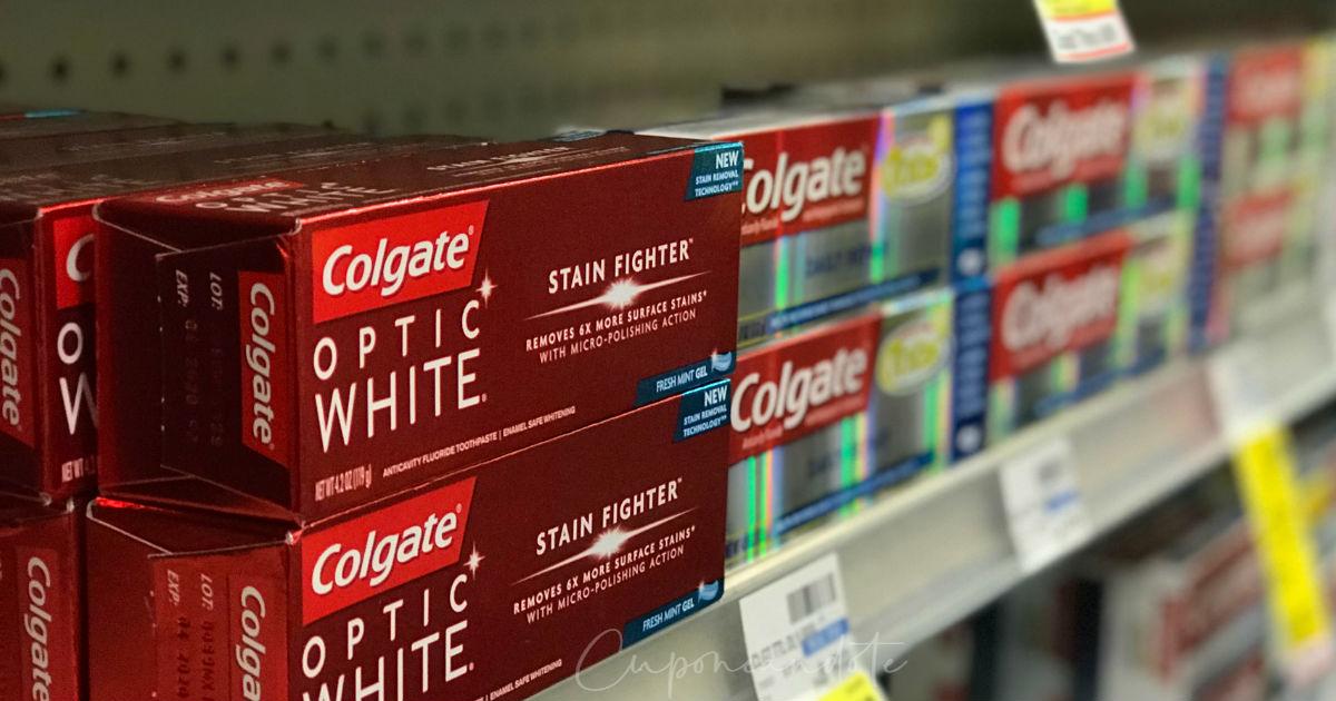 Lee más sobre el artículo Variedad de Pasta Dental Colgate a solo $0.99 en CVS