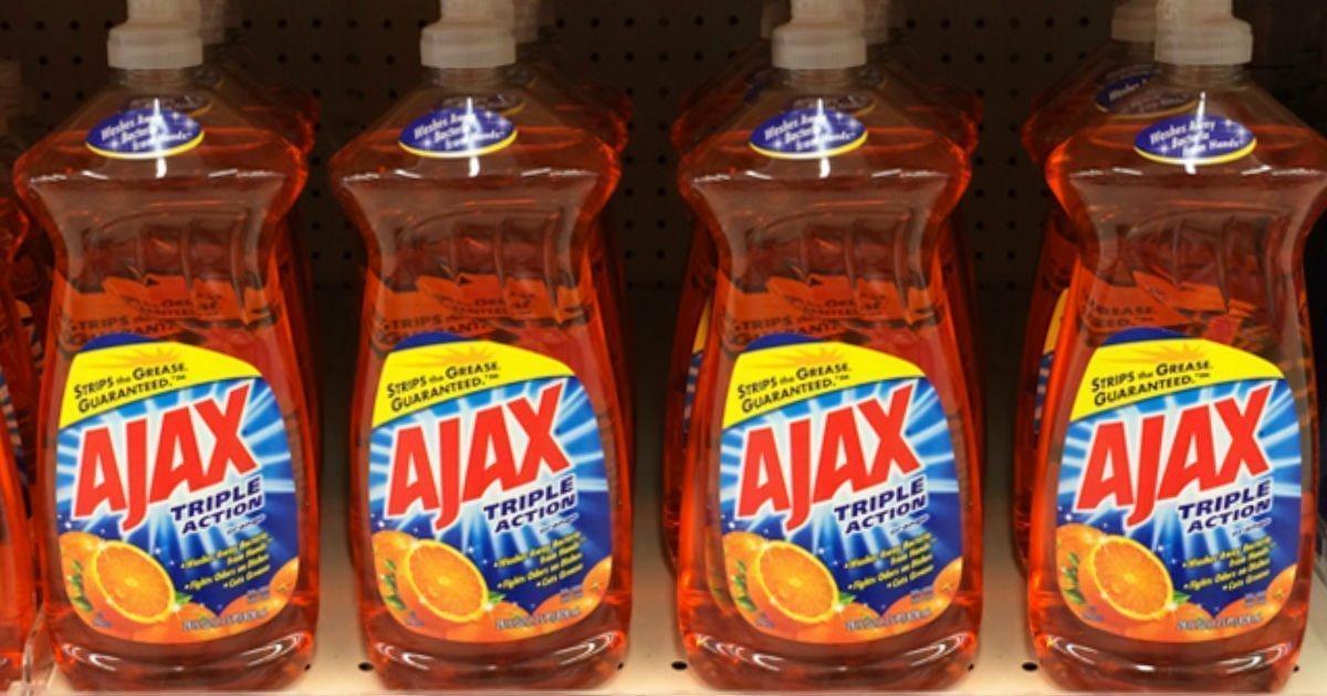 Empezando 3/7/21 — Liquido de fregar Ajax Ultra 28 oz a solo $1.49 en Walgreens