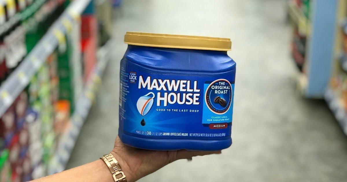Lee más sobre el artículo Café Maxwell House a solo $4.99 en Walgreens