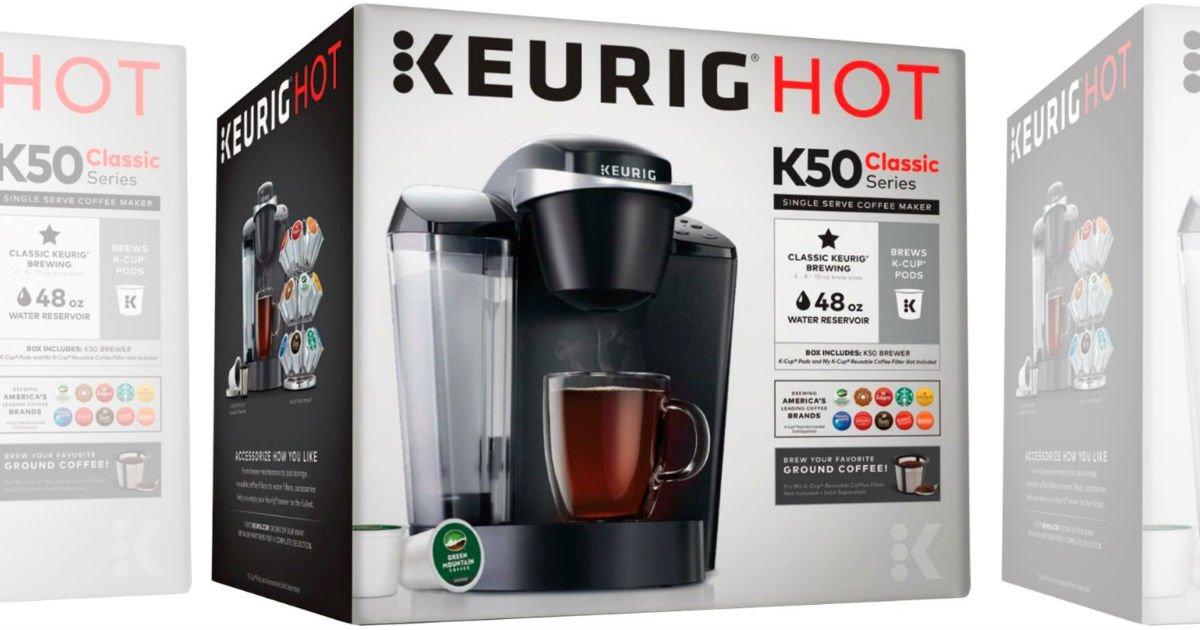 Keurig K50 K-Cup Coffee Maker SOLO $67.99 en Target (Reg $120)