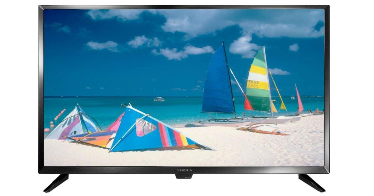 Televisor Insignia de 32 pulgadas a solo $84.99 en Best Buy (Reg. $150)