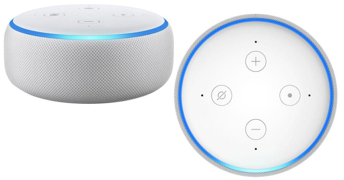 Amazon Echo Dot 3ra Generación con Alexa SOLO $18.99 en Best Buy (Reg $40)