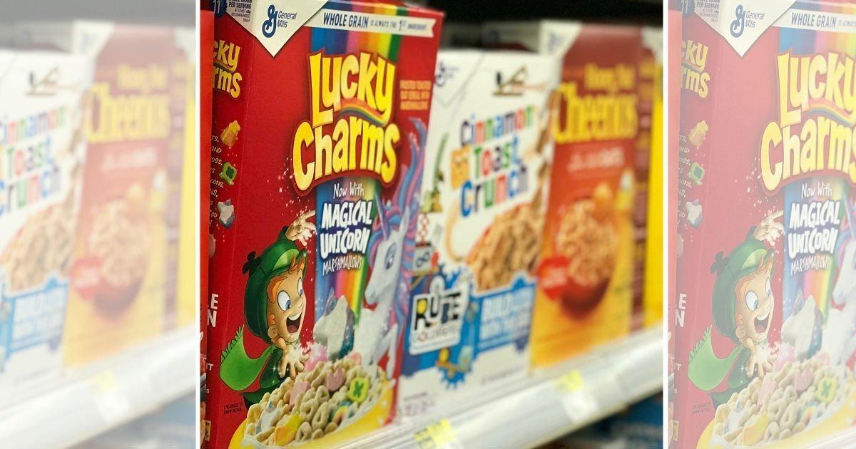 Empezando 3/7/21 — Cereales General Mills a solo $1.38 en Walgreens