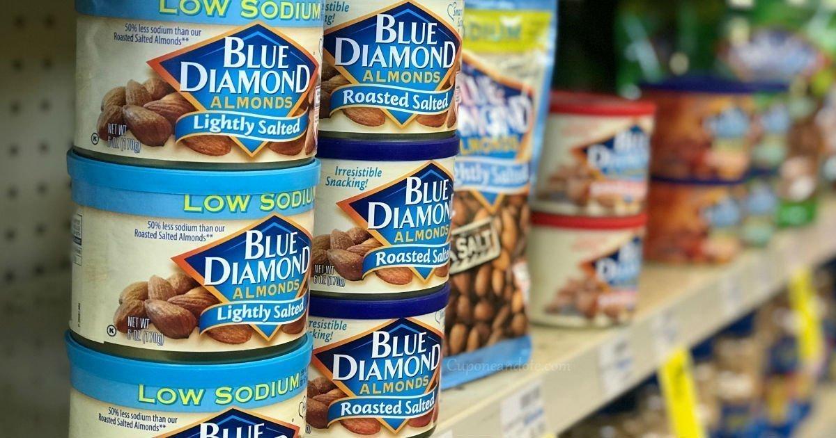 Almendras Blue Diamond a solo $2.00 en CVS