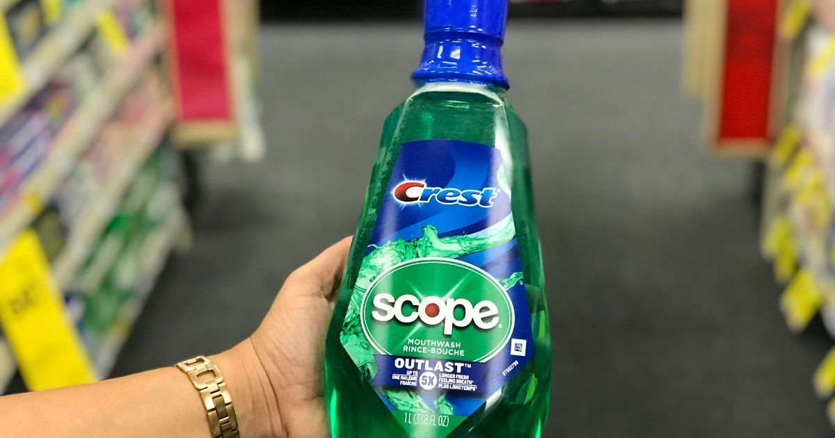 Enjuague Crest Scope a solo $1.79 en CVS
