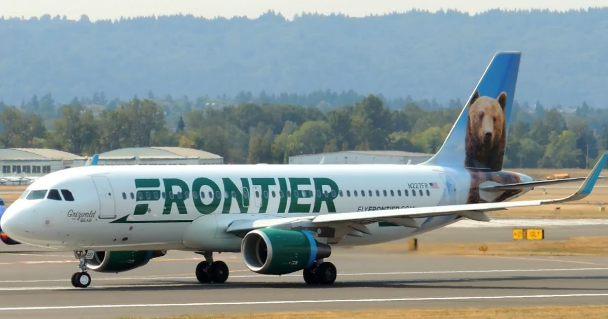 90% Off en Frontier Airlines en Vuelos Domésticos Sin Escala – HOY Solamente