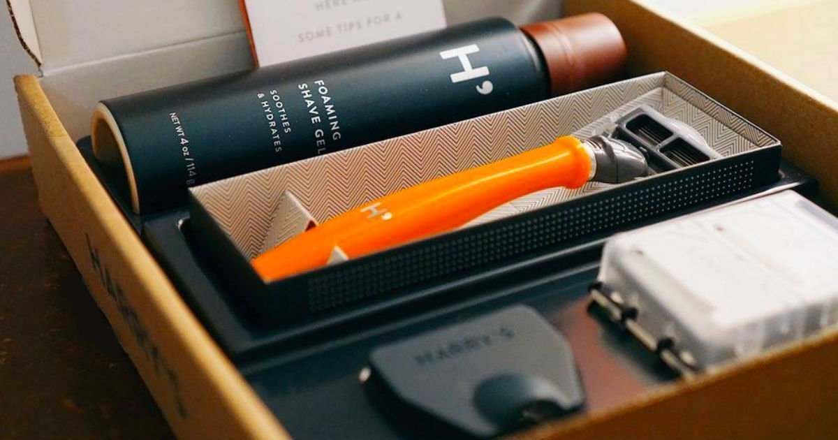 Rasuradora Harry's, Crema de Afeitar y Cover GRATIS