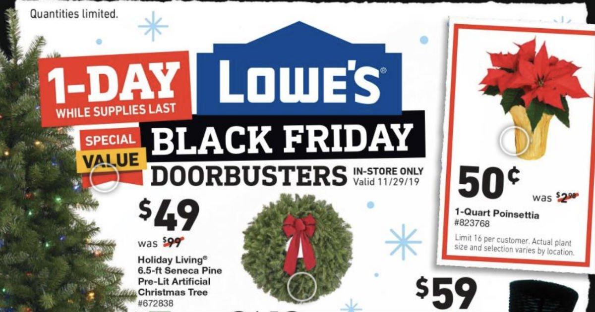 Shopper de Lowe's Black Friday 2019