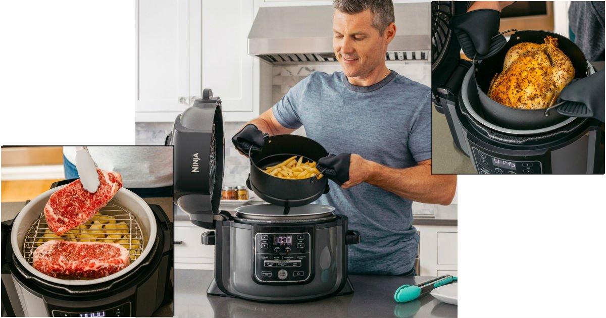 Multi-Cooker Ninja Foodi a solo $129.99 en Best Buy (Reg. $200)
