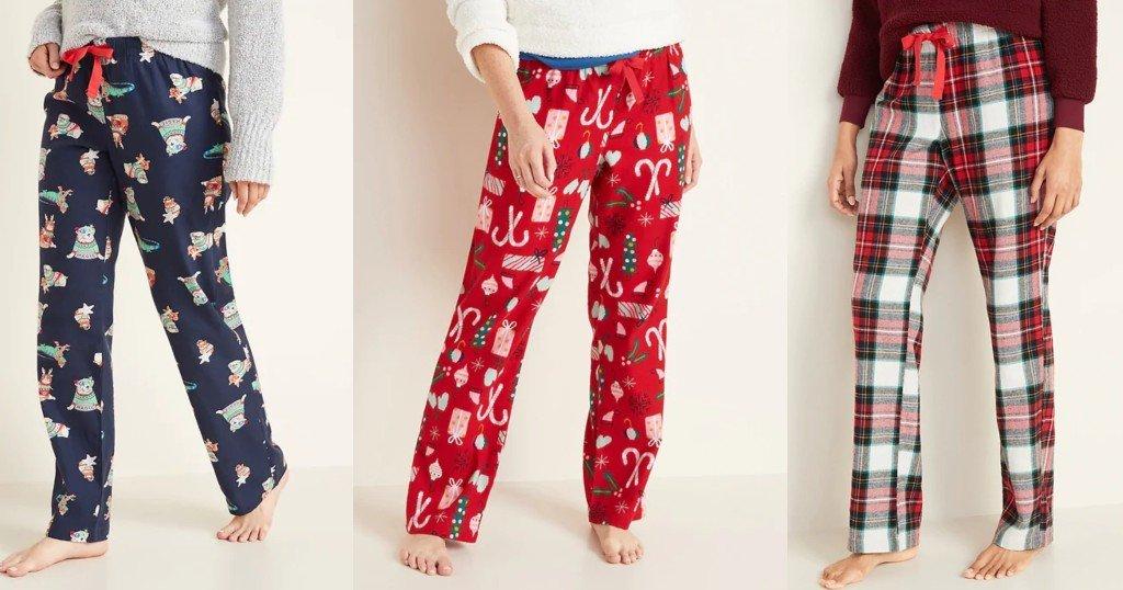 Pantalones de Pajama a SOLO $5 y $8 en Old Navy