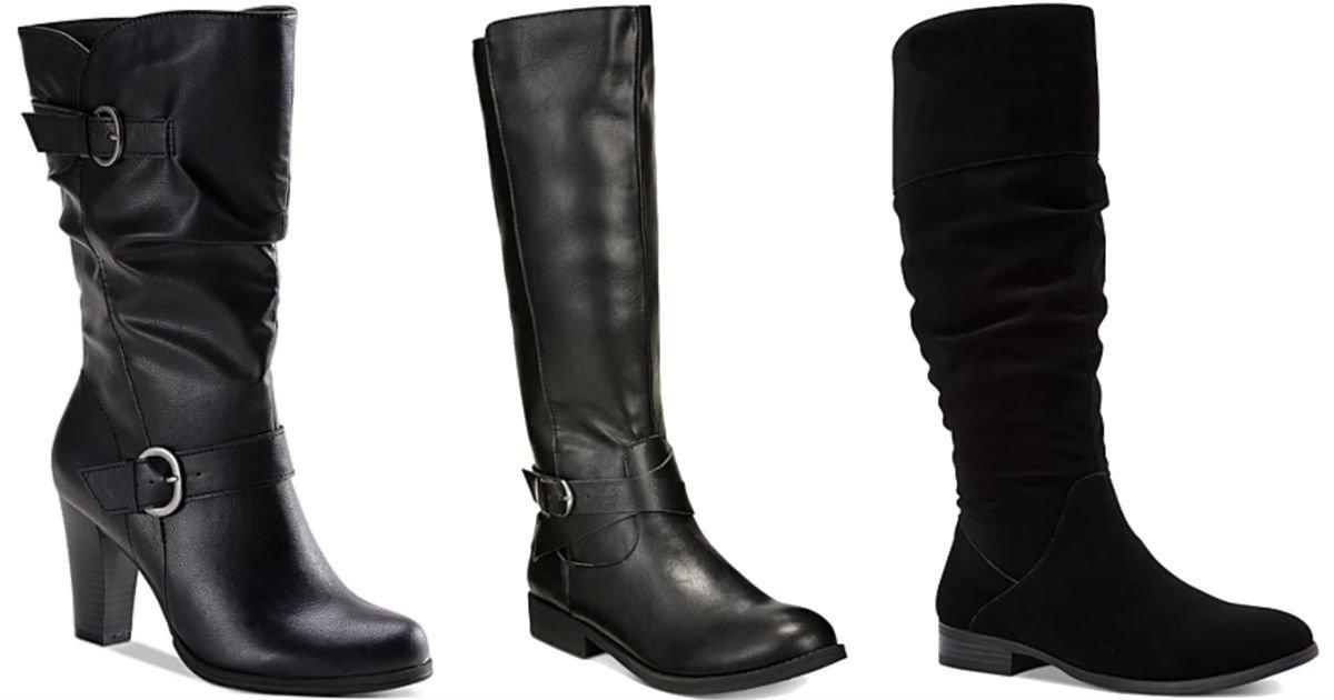 Botas para Mujeres Style & Co SOLO $19.99 en Macy's (Reg $49.99)
